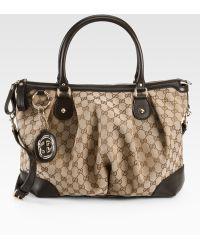 Gucci Original Gg Top Handle Bag - Lyst