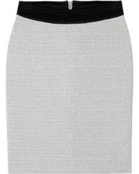 Cut25 by Yigal Azrouël - Metallic Knitted Bandage Skirt - Lyst