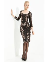 Just Cavalli Animal Print Jersey Dress - Lyst