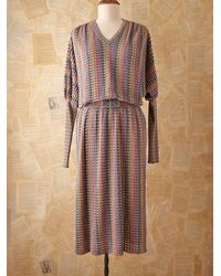 Free People Vintage Missoni Dolman Dress - Lyst