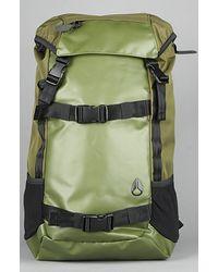 Nixon The Landlock Backpack in Surplus & Black - Lyst