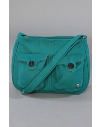 Nixon The Thrill Crossbody Bag in Emerald - Lyst