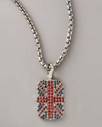 Stephen Webster - Union Jack Necklace - Lyst