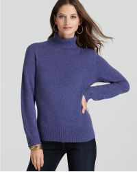 Ash | Jones New York Collection Cashmere Turtleneck Sweater | Lyst