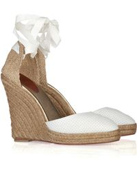 Christian Louboutin Vivi 120 Wedge Sandals - Lyst