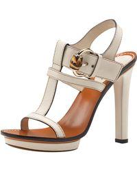 Gucci Gwen High Heel Platform Sandal  - Lyst