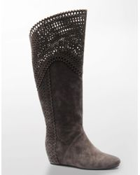 Isola - Toscana Suede Boots - Lyst