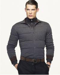 Ralph Lauren Black Label - Quilted Bond Shirt - Lyst