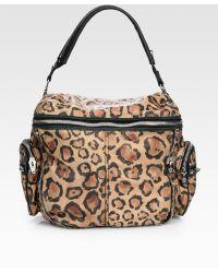 Alexander Wang Jane Leopard-print Leather Shoulder Bag - Lyst