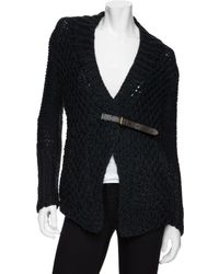 Improvd - Chunky Belted Sweater - Lyst