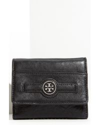 Tory Burch Audra Double Flap French Wallet - Lyst