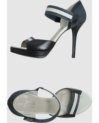 Armani  Platform Sandals - Lyst