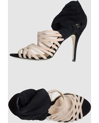 Fendi High Heeled Sandals - Lyst