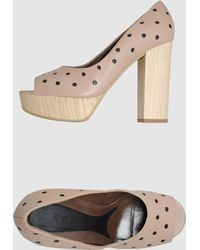 Marni Pumps With Open Toe - Lyst
