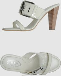 Tod's  High-heeled Sandals - Lyst