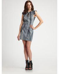 Kelly Wearstler Relief Dress - Lyst