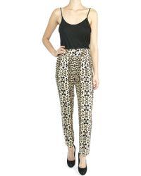 A.L.C. Elson Leopard Printed Pants - Lyst