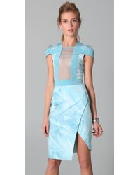 Dion Lee Perspective Interlock Dress - Lyst