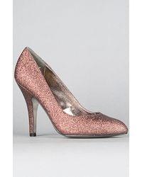 DV by Dolce Vita The Notty Shoe in Copper Glitter - Lyst