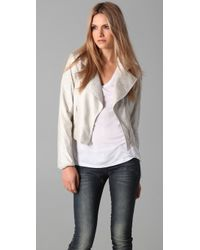 Georgie - Faux Suede Jacket - Lyst