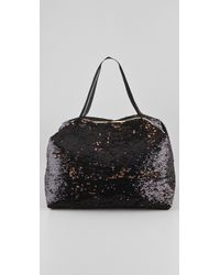 LeSportsac - Platinum Sherry Sequins Small Passerby Satchel - Lyst