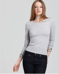 Ash | Burberry Brit Cashmere Crewneck Sweater | Lyst