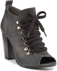 Boutique 9 Beke Peep Toe Booties - Lyst