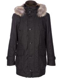 Chatcwin - Long Far Hood Coat - Lyst