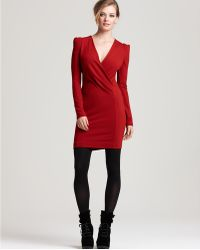 French Connection Samantha Stretch Long Sleeve Dress - Lyst