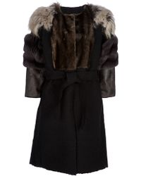 Lanvin Fur Coat - Lyst