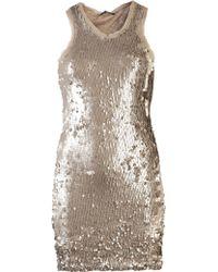 Plein Sud Jeanius - Sequin Tank Dress - Lyst