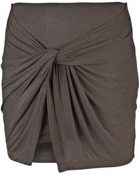 Plein Sud Jeanius - Twist Mini Skirt - Lyst