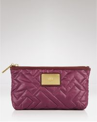 Tory Burch Ski Vintage Small Quilted Cosmetic Case - Lyst