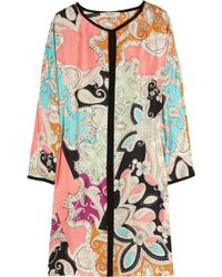 Etro Multiprint Paisley Maxi Dress - Lyst
