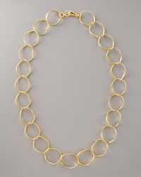 Stephanie Anne Chancellor Chain Necklace gold - Lyst