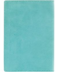 Ally Capellino - Turquoise Leather Passport Holder - Lyst