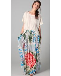 Thakoon Addition - Maxi Skirt with Slits - Lyst