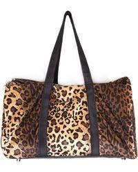 Nasty Gal - Leopard Duffle Bag - Lyst