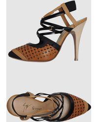 Vionnet High-heeled Sandals - Lyst