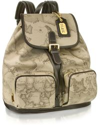 Alviero Martini 1A Classe - 1a Prima Classe - Two Pocket Backpack - Lyst