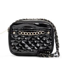 Mango Shiny Shopper Handbag - Lyst