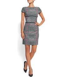 Mango Tweed Dress - Lyst