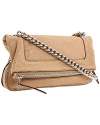 Olivia Harris - Zip Pocket Foldover Shoulder Bag - Lyst