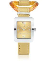 Antica Murrina - Calypso - Murano Glass Link Watch - Lyst