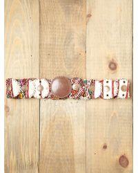 Free People Embellished Tapestry Belt - Lyst