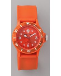 Rumbatime Fresh Squeeze Perry Slap Watch - Lyst