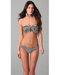 Thayer - Ruffle Bandeau Bikini - Lyst
