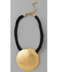 Theodora & Callum - Sand Dollar Necklace - Lyst
