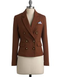 ModCloth Political Science Major Blazer - Lyst