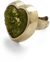 ModCloth Rock Solid Style Ring - Lyst